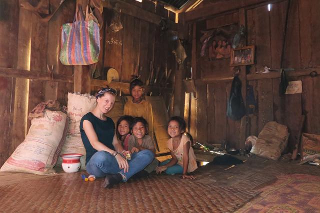 Homestay bei der ethnische Minderheit Akha, Laos