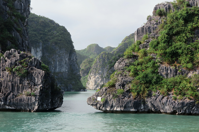 Felsformationen, Halong Bucht