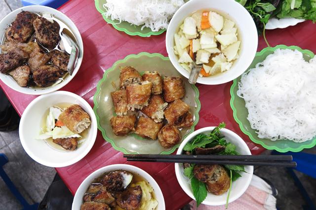 Bun Cha in Hanoi
