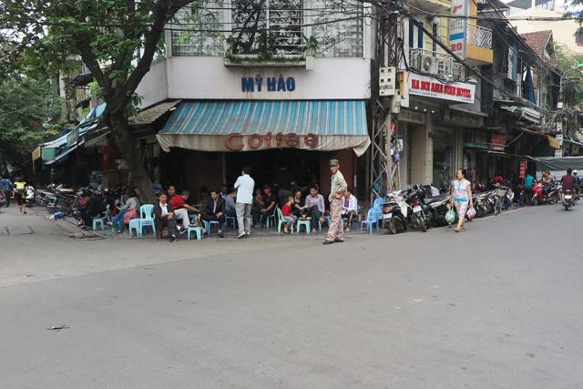 Cafés y bares en las calles de Hanoi, Old Quarter