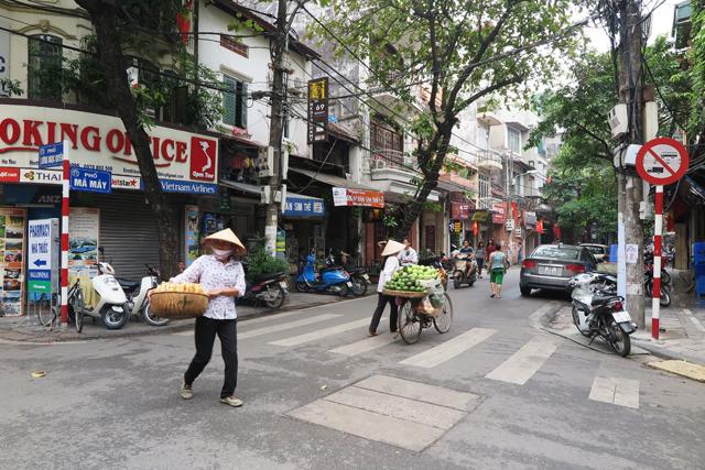 Calles de Hanoi, Old Quarter
