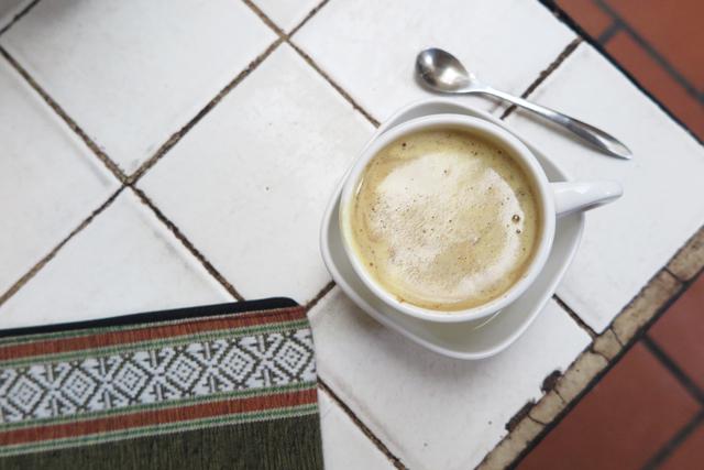egg-coffee in Hanoi