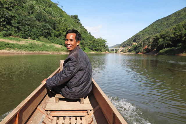 Bootsfahrt auf dem Nam Ou