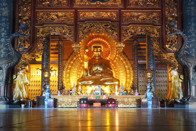 Bai Dinh, gran Buda