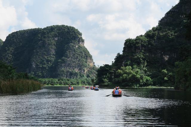 Trang An, paseo en barca