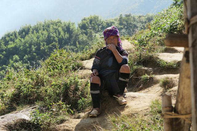 Mujer Hmong, Sapa