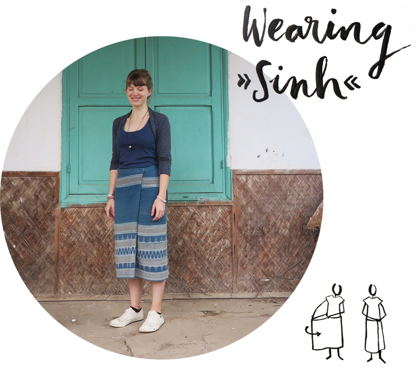 Lao-style: Wearing Sinh, the Lao skirt