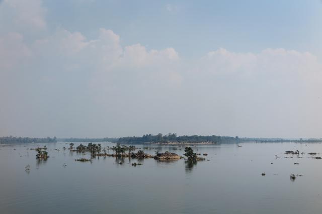 Vista desde el viewpoint al sur de Don Khon. Si Phan Don, Laos.