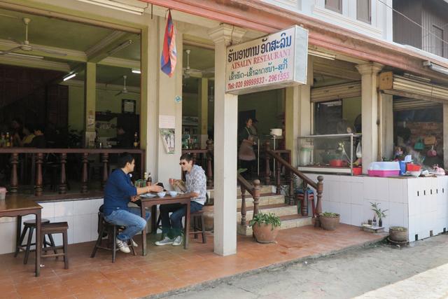 Restaurante en Luang Prabang, Laos