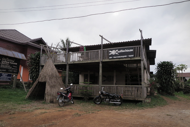 Das Jhai Coffee House in Paksong, Laos.