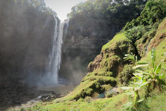 Wasserfall Tad Katamtok, Laos.