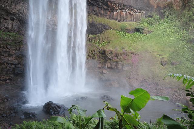 Wasserfall Nr. 2 von Tad Tayicsua, Laos.